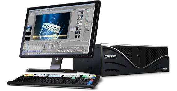 リアルタイムモーショングラフィックエンジン Xpression(RossVideo)