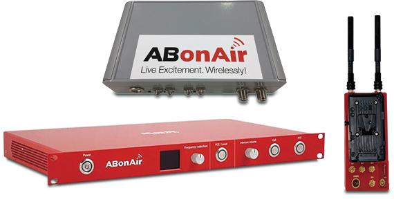ワイヤレスビデオシステム ABonAir(エー·ビー·オンエア)